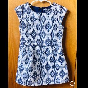 Oshkosh Toddler Girl Blue Dress